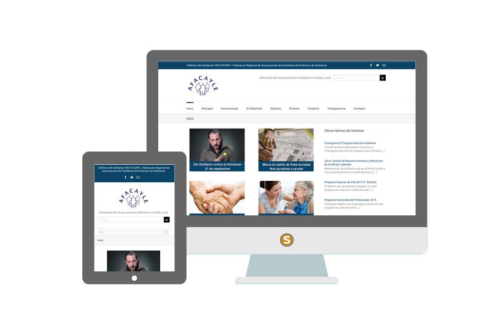 Diseño web Afacayle