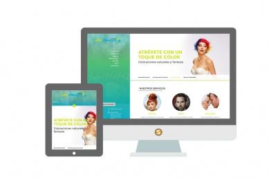 Diseño web De Diego Estilistas