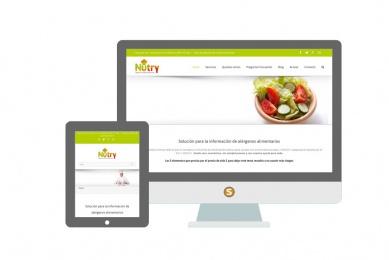Diseño web Nutry