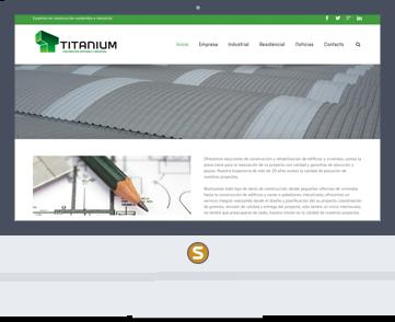 Marketing online Titanium Construcción