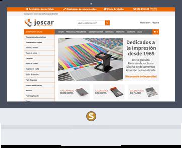 Marketing online Imprenta Joscar